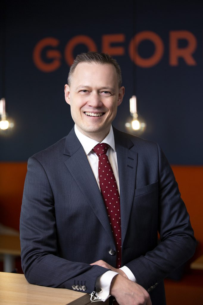 Goforen toimitusjohtaja